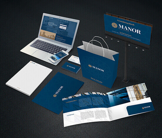 Manor Marketingsunterlagen Agentur in Wien
