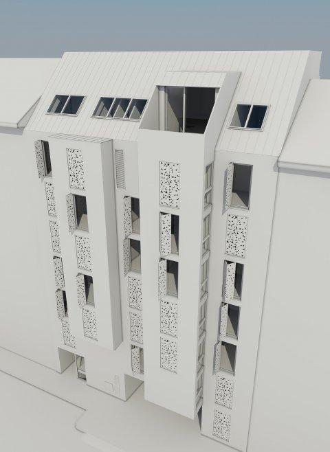 JP Immobilien :: Immobilienprojekt Pramergasse :: 3D Visualisierungen