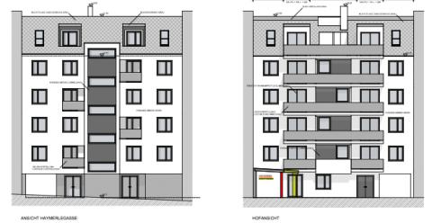 Wohnkonzept: Immobilienprojekt Haymerlegasse