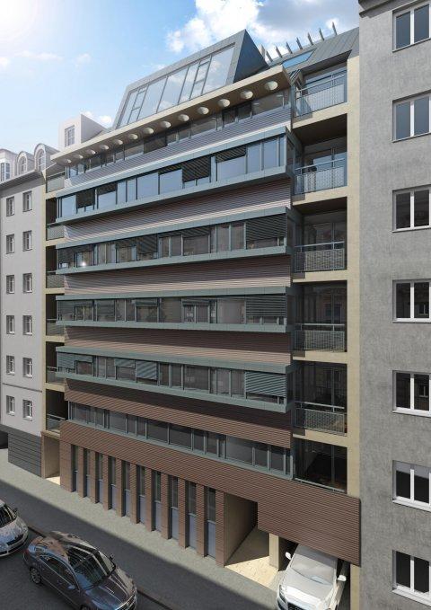 JP Immobilien 3D Renderings, 3D Visualisierungen Immobilienprojekt Zieglergasse 1070 Wien :: Immobilien Promotion Wien