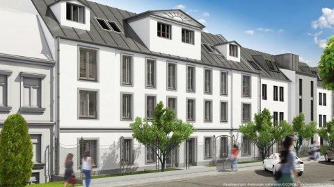 3D Visualisierungen, Renderings Bischoffgasse 23, 1120 Wien