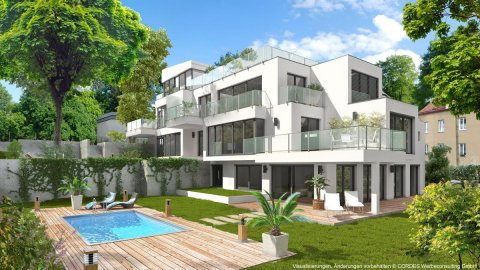 Real Estate Marketing, Immobilien-Promotion, Markenentwicklung, Vermarktungsunterlagen, 3D Renderings, Homepage :: Villa Chartreux
