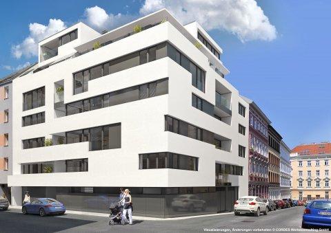 3D Visualisierungen, Architektur in 3D, Renderings für das Projekt Schopenhauerstrasse 70. JP Immobilien