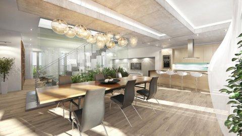 3D Innen-Design Visualisierungen Rendering Projekt Sigmundsgasse Immobilien Promotion