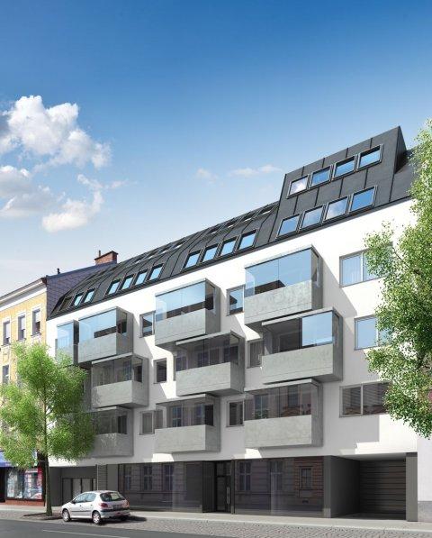 3D Visualisierungen, Renderings, Immobilien-Projekt WAG111, 3D Werbeagentur Wien