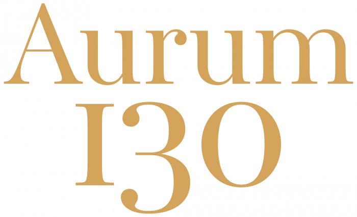 AURUM 130 Logo, Markenentwicklung