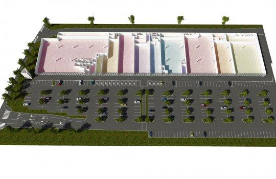 Immofinanz 3D Grundrisse Shopping Center