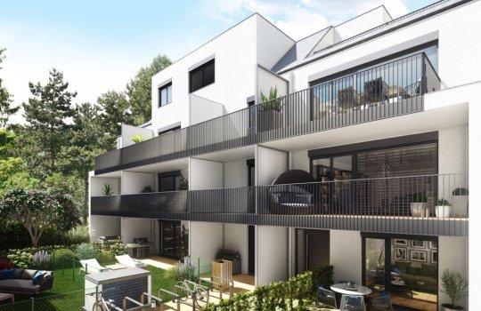 3D Visualisierungen :: Renderings für ein Neubauprojekt Rugierstrasse