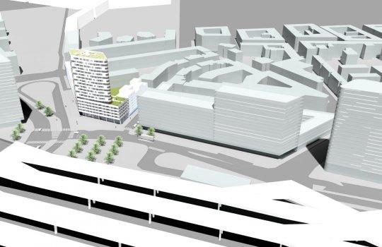 Buwog :: Innen und Außen- 3D Visualisierungen, 3D Video Animation :: Immobilien-Projekt Gombrichgasse 2