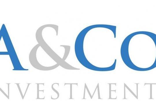 A&Co Investments :: gründet ein neues Unternehmen, Neugründung, Namensfindung, Logo, Kommunikationsunterlagen, Website und Geschäftsbericht