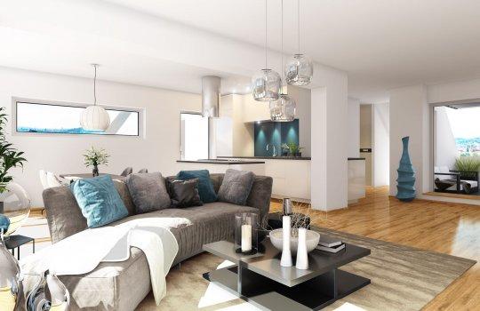 Neubauprojekt I Baumgartner CASINO-PARK I 3D Design Interieur