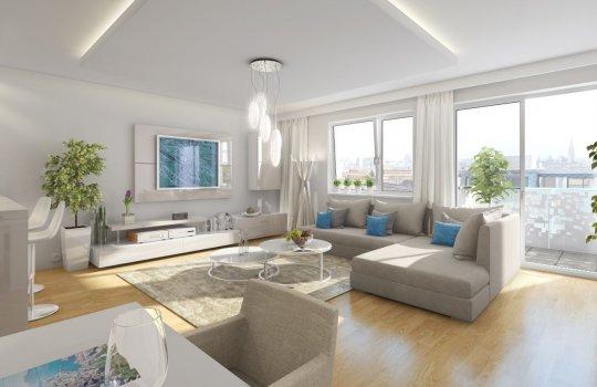 Hübl & Partner: Immobilien-Projekt Nordmanngasse Wien :: 3D Visualisierungen