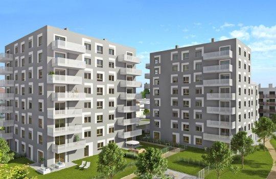 WVG :: Immobilienprojekt Malzstraße 2 u. 3, Schwechat