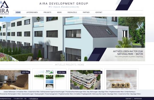 AIRA Website SEO Analyse und Optimierung, Web Responsive :: neue Kommunikationsunterlagen