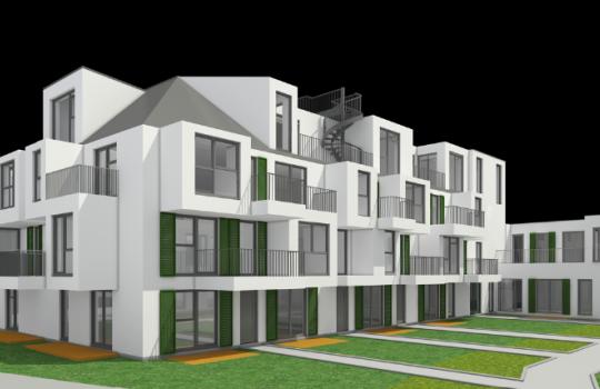 JP Immobilien 3D Renderings, 3D Visualisierungen Immobilienprojekt Auhofstraße 1130 Wien :: Immobilien Promotion Wien