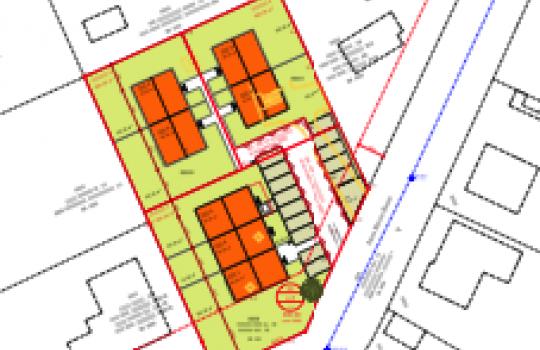 Architektur in 3D, Renderings für Immobilienprojekt in Purkersdorf