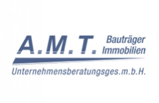A.M.T Immobilien Werbebanner & Kommunikationsunterlagen