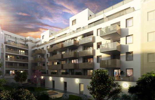 Wohngut Bauträger :: Immobilienprojekt Triangel