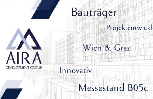 AIRA Bauträger :: Wiener Immobilien Messe Anzeigengestaltung