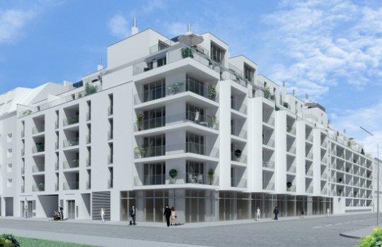 3D Visualisierungen, Renderings, Immobilien-Projekt Bunsengasse 4; 1210 Wien - 2012