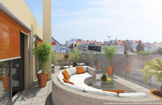 Immobilien-Marketing, 3D Renderings, Architektur in 3D, Immobilien-Projekt, Verkaufsfolder, Übergabemappe