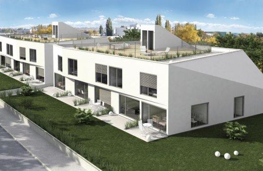 3D Außenvisualisierung, Architektur in 3D, Renderings Projekt Draschestraße 10