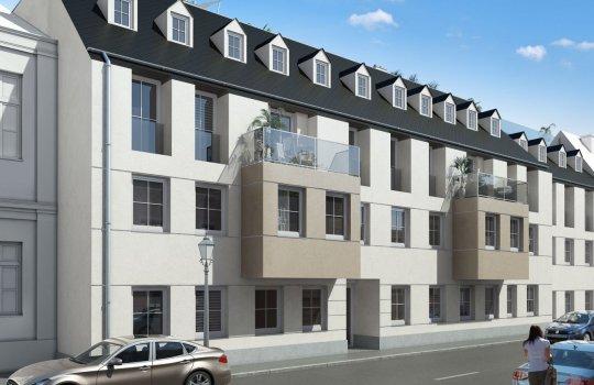 JP Immobilien :: Immobilienprojekt Wienerstraße, Brunn am Gebirge :: Renderings, 3D Visualisierungen