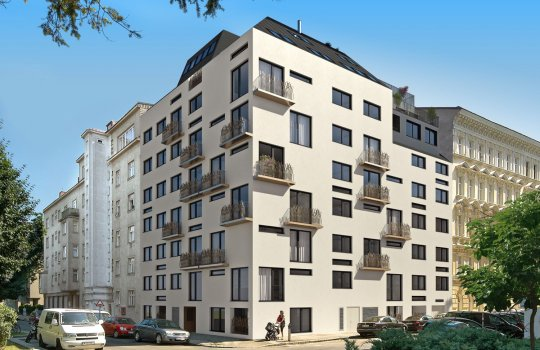 JP Immobilien :: Immobilienprojekt Nähe Augarten :: 3D Visualisierungen