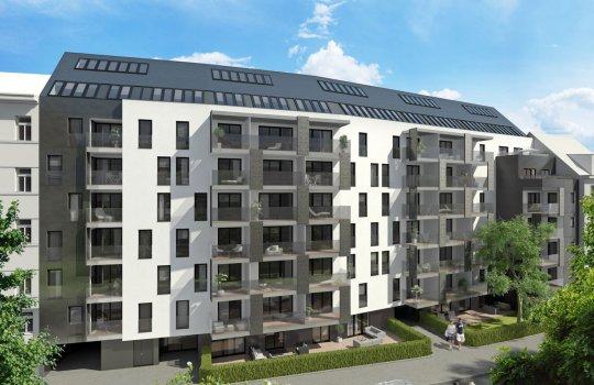 JP Immobilien :: Immobilienprojekt Neulinggasse :: 3D Visualisierungen