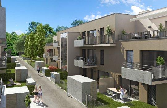 BUWOG: Immobilien-Projekt Töllergasse Wien :: 3D Visualisierungen