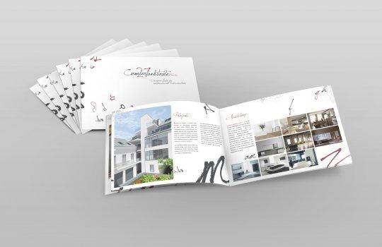 Real Estate Marketing :: Verkaufsfolder, Broschüre, Druckproduktion :: Immobilien Promotion Agentur Wien