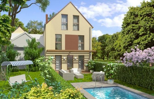 Immobilienmarketing, 3D Renderings, Architektur in 3D, Immobilien-Projekt