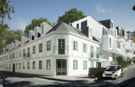 3D Renderings, Architektur in 3D, Immobilien-Projekt in der Auhofstraße 205, 1130 Wien