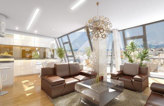 3D Visualisierungen, Agentur, Architektur in 3D, Immobilien-Projekt