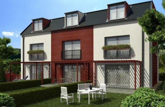 3D Renderings, Architektur in 3D, Immobilien-Projekt in der Unterfeldweg 6