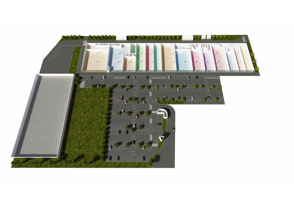 Immofinanz 3D Grundrisse Shopping Center