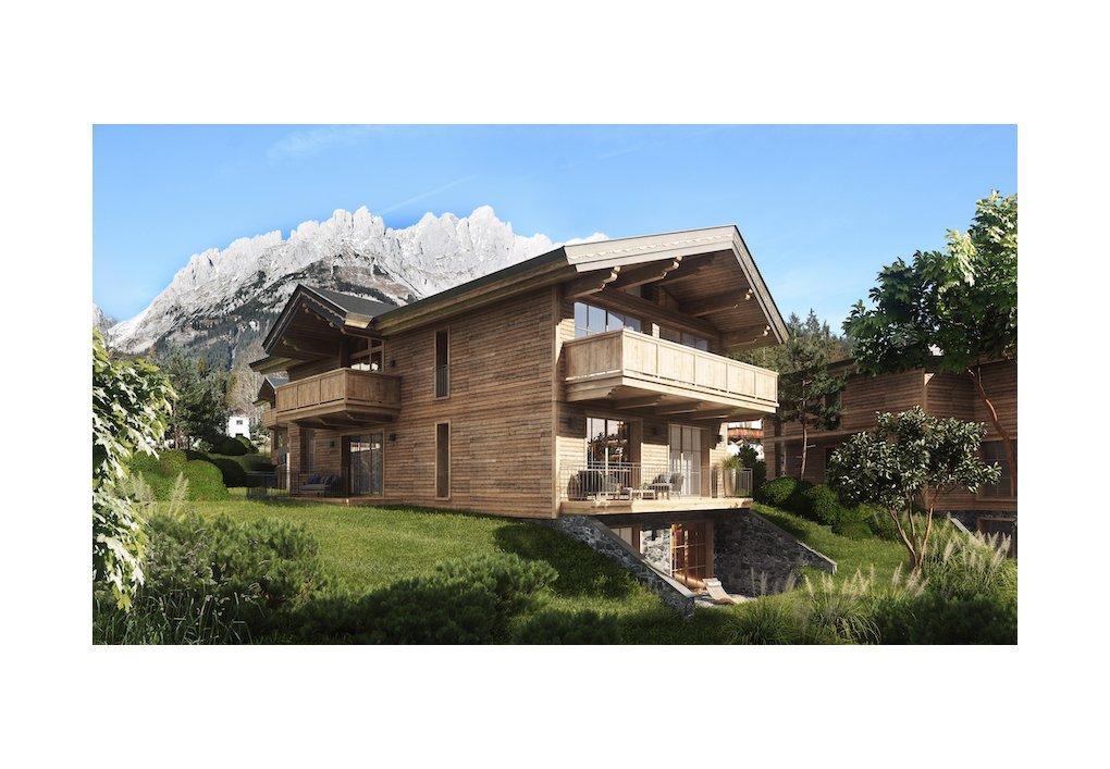 3D Außenvisualisierung Wilder Kaiser Kitzbühel CORDES