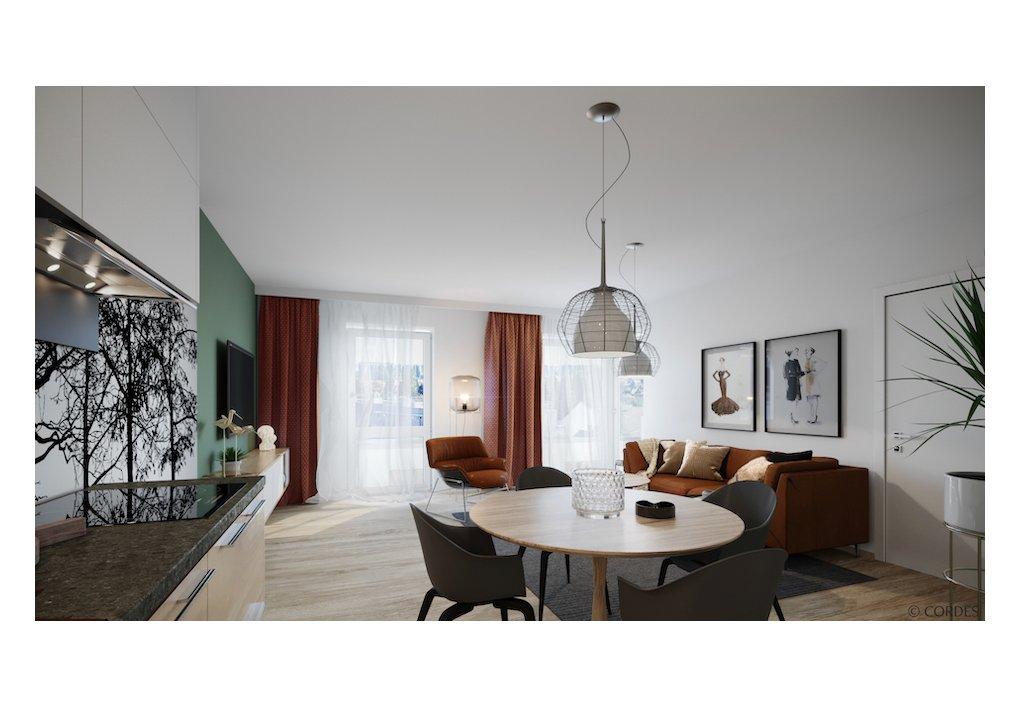 3D Innen-Rendering FLORIS CORDES Werbeconsulting Agentur Wien