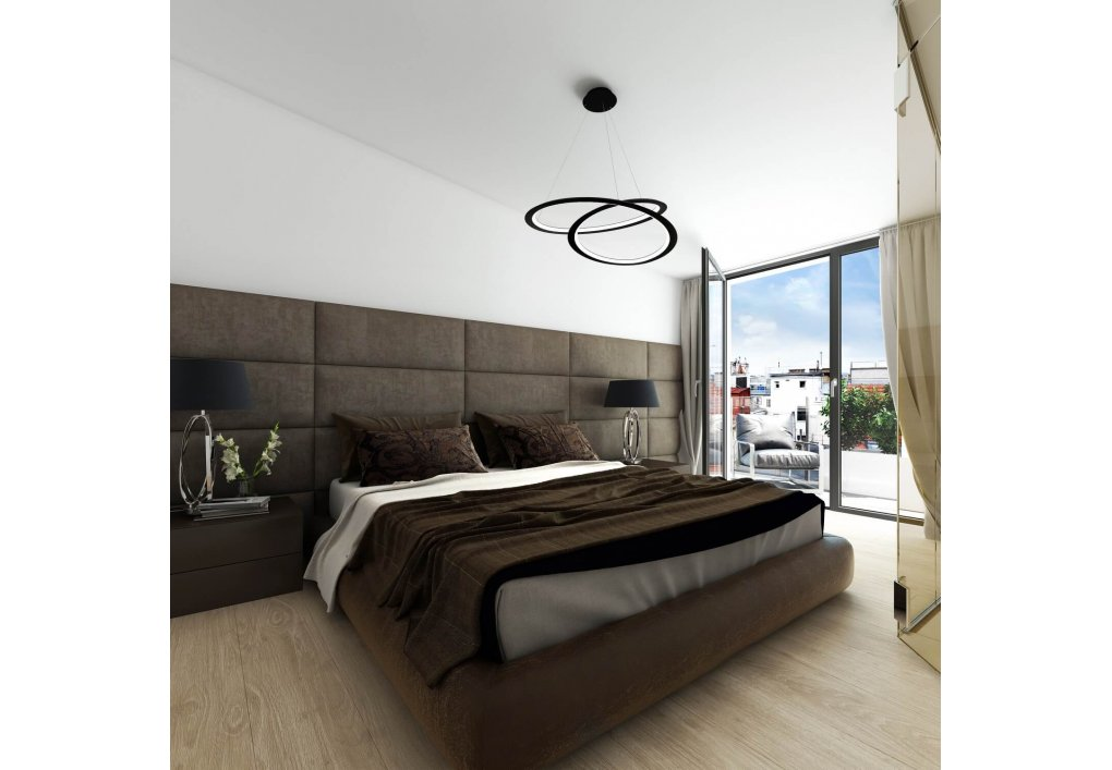 3D Schlafzimmer Rendering
