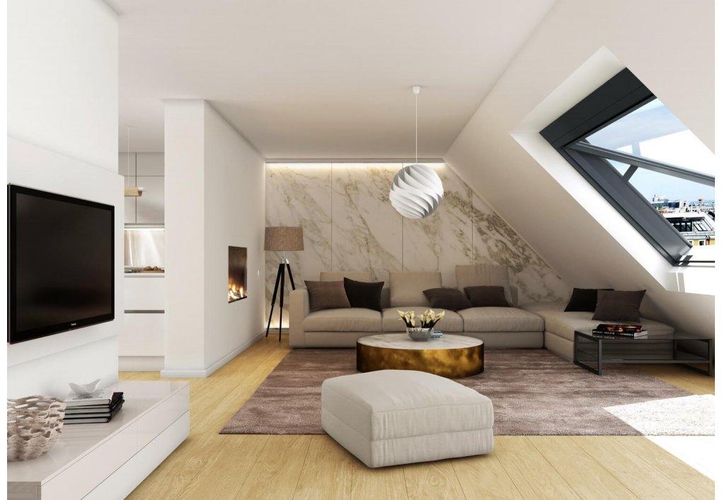 3D Wohnzimmer Rendering