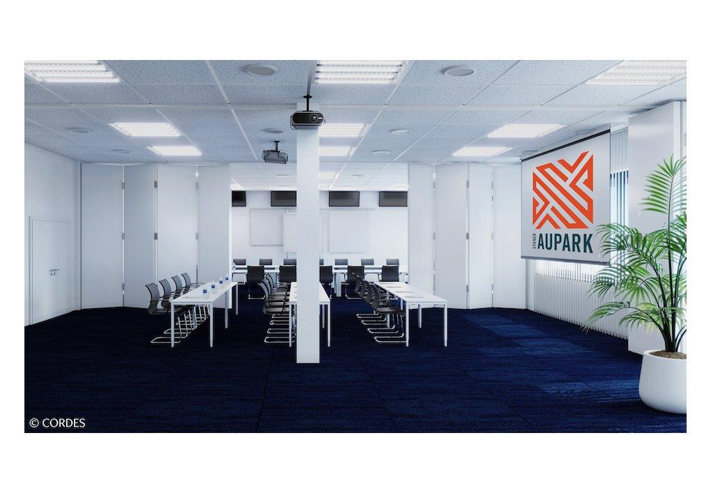 3D Rendering Congress-Room Staner Aupark Gewerbeprojekt