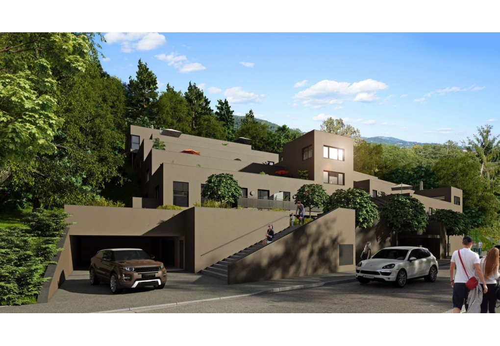 Außenvisualisierung Baiernstrasse Hill Resorts am Schlosspark
