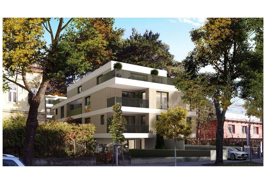 Neubauprojekt Alszeile 1170 Wien :: 3D Renderings