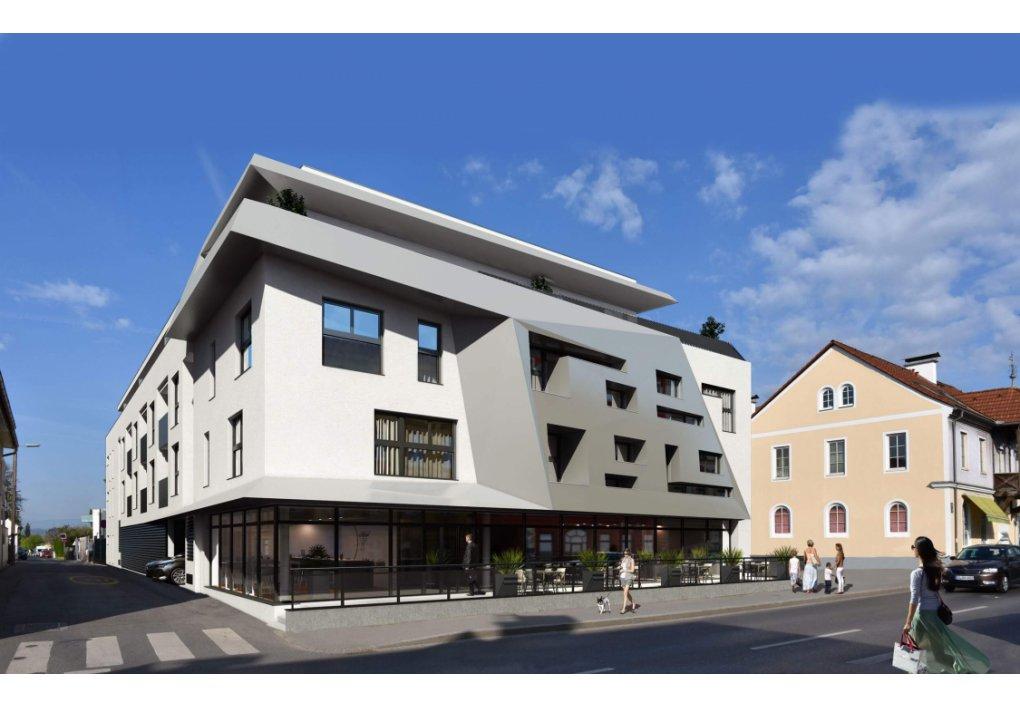Nußbaumerstrasse Graz AIRA 3D Rendering Außen