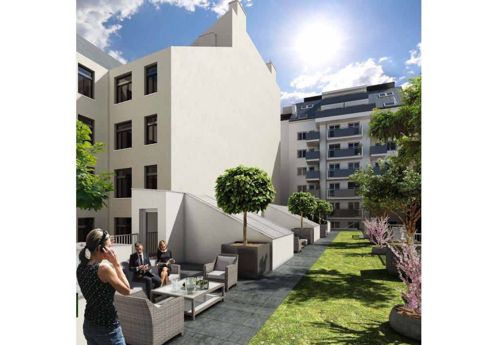 3D Visualisierung Außen Immobilien-Projekt Parks73