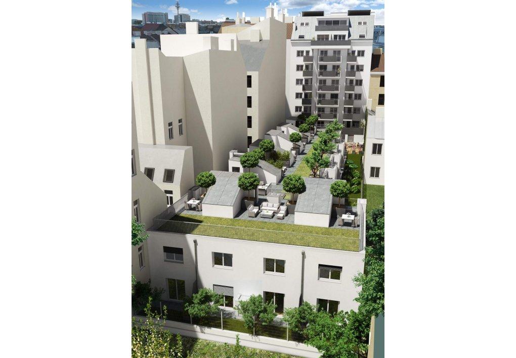 3D Visualisierung gesamt Immobilien-Projekt Parks73
