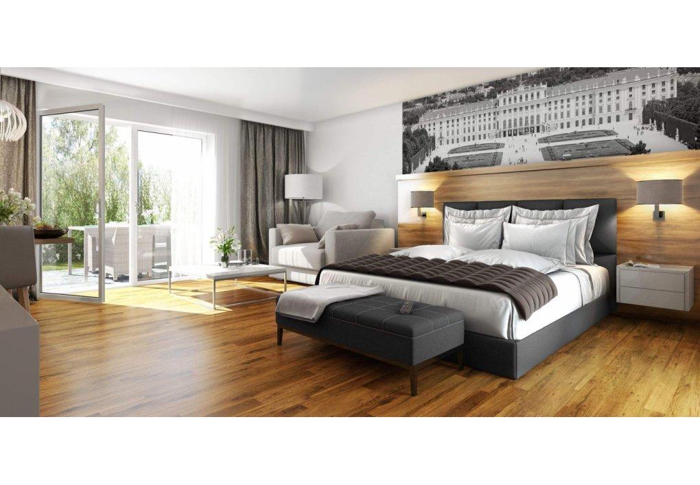 3D Visualisierung Schlafzimmer Immobilien-Projekt Parks73
