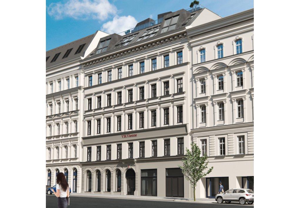 3D Visualisierung Außen VIE.Vienne CORDES Werbeconsulting Agentur Wien