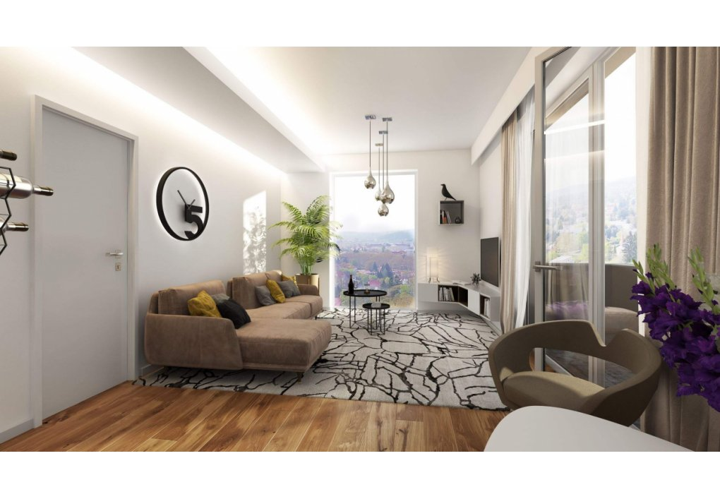 Wohnzimmer TOP 05 Innenvisualisierung 3D