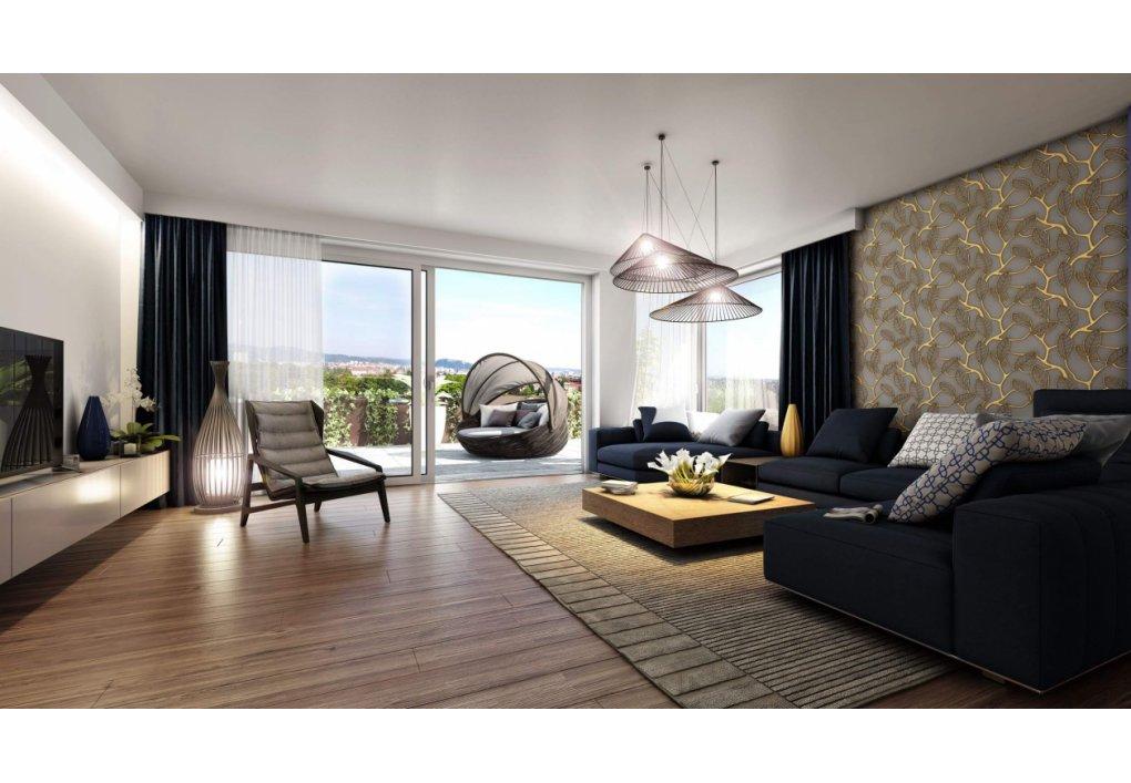 Wohnzimmer TOP 28 Innenvisualisierung 3D Hillresorts am Schlosspark